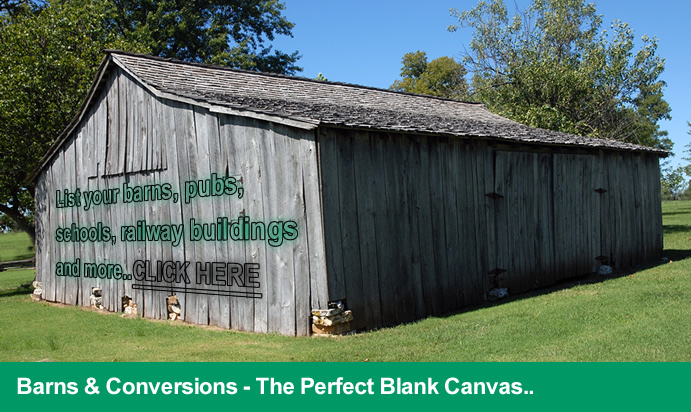 Barns for sale, barn conversions for sale