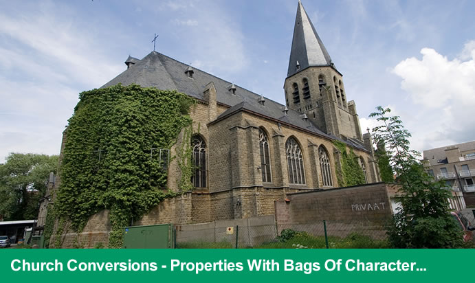 Converted churches for sale and church/chapels for sale