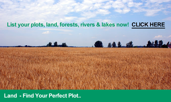 Plots of land for sale and self build/building plots