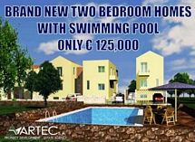 BRAND NEW VILLAS WITH SWIMMING POOL ONLY 125,000 EUROS