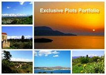 LARGE PORTFOLIO OF LAND FOR SALE IN WESTERN CRETE, GREECE - SOLD