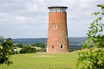 The Windmill overlooking the Worcestershire Countryside
