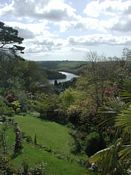 The view of the Fowey valley
