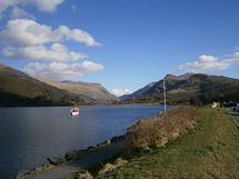 Padarn Lake 2.5 miles from the cottage