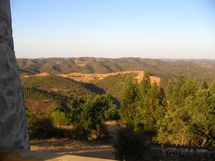 Stunning view of the Algarve countryside