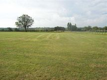 SHOWING TOP PART OF CAMPING FIELD AND PADDOCKS