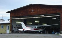 private hangar